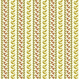 Vector plant vertical seamless pattern background with leaves