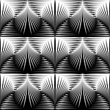 Design seamless monochrome shell pattern