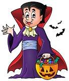 Halloween vampire theme image 1