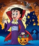 Halloween vampire theme image 2