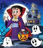 Halloween vampire theme image 3