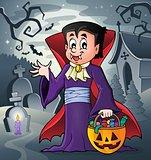 Halloween vampire theme image 6