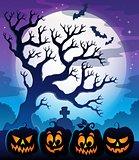 Pumpkin silhouettes theme image 4