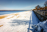 Riverwalk along the Volga River