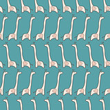 seamless pattern  with giraffe