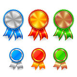 Color Award Medals