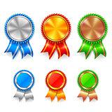 Color Award Medals