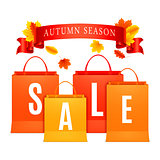 Autumn Sale Shopping Bags