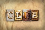 Club Concept Rusted Metal Type