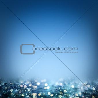 Blue ocean background