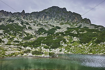 Amazing Panorama of Samodivski Lakes and Dzhangal Peak, Pirin Mountain