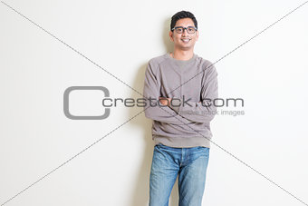 Casual Indian man portrait