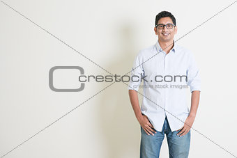 Casual business Indian male portrait