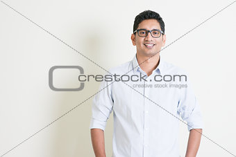 Casual business Indian boy portrait