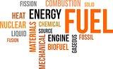 word cloud - fuel