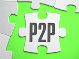 P2P - Jigsaw Puzzle with Missing Pieces.