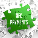 NFC Payments on Green Puzzle.