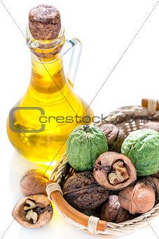 Oil of the walnut.