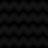 Wave seamless pattern black