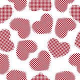 hearts halftone