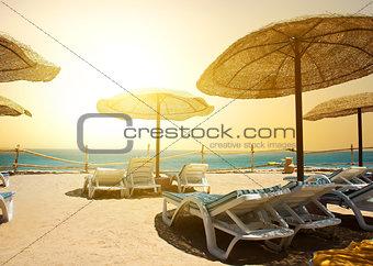 Beach near sea