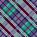 Diagonal seamless pattern in cool hues