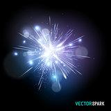 Vector Spark Effect