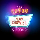 Retro Showtime Sign