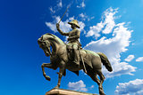 Monument to Carlo Alberto - Turin Italy