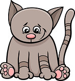 little cat cartoon character