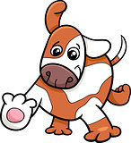 puppy dog cartoon character