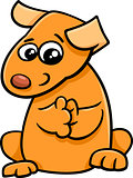 puppy cartoon character