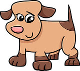 puppy dog cartoon illustration