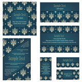 Damask Invitation Card Set