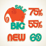 Badges big discounts
