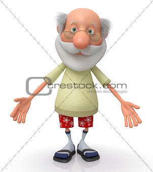 3d grandfather pensioner