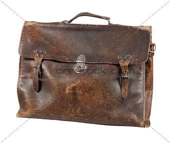 Old briefcase