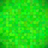 Green Geometric Circle Background