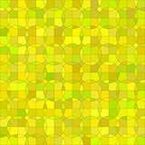 Yellow  Geometric Circle Background