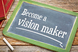 Become a vision maker on blackboard