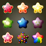 Fruit Star Candies