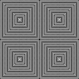 Design seamless monochrome square pattern