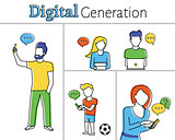 Digital generation
