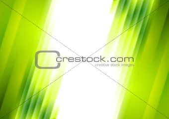 Green blurred stripes bright corporate background