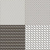 Set of patterned textures