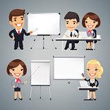 Peoples Gives a Presentation or Seminar
