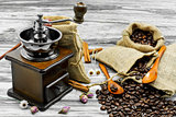 Coffee beans still life