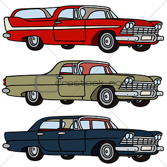 Old american cars