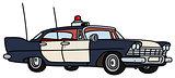 Old police car