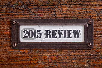 2015 review- file cabinet label